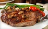 Jenny's Steak House - Mokena: Steak and Seafood Fare for Dinner at Jenny's Steak House in Mokena (Half Off). Two Options Available.Steak and Seafood Fare for Dinner (Half Off). Two Options Available.