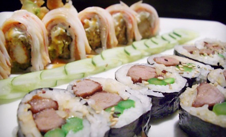 $30 Groupon to Kenny's Pan Asian Cuisine & Sushi Bar - Kenny's Pan Asian Cuisine & Sushi Bar in Bear
