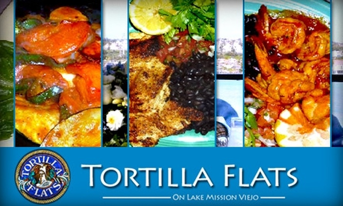 Tortilla Flats Restaurant - Mission Viejo: $10 for $20 Worth of Mexican Cuisine and Drinks at Tortilla Flats Restaurant