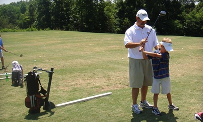 Resurrection Golf Center - Riverbend: $30 for Three All-Day Range Passes and Unlimited Balls at Resurrection Golf Center in Gastonia ($75 Value)