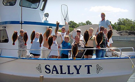 Half-Day Fishing Trip for Two on MondayThursday (a $60 value) - Sally T Fishing in Hampton