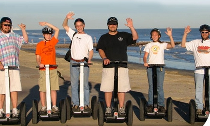 SegCity - Multiple Locations: One-Hour Segway Tour of Galveston Seawall or San Antonio from SegCity