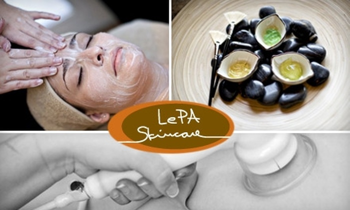 LePA Skincare - West University: $49 for Your Choice Of Electrolysis, a Facial, or an Anti-Cellulite Vacuum Massage at LePA Skincare (Up to $100 Value)