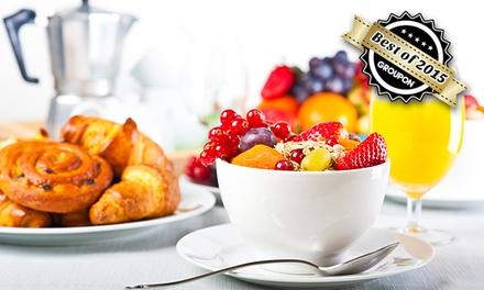 Sonntags-FrühstücksbuffetAll-you-can-eat für Zwei oder Vier im Maximilian