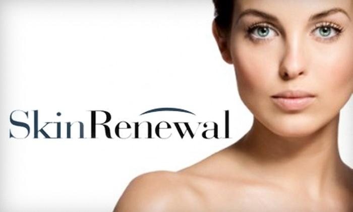 SkinRenewal - Terrace Drive: $99 for Three Illuminize or Vitalize Chemical Peels at SkinRenewal (Up to $450 Value)
