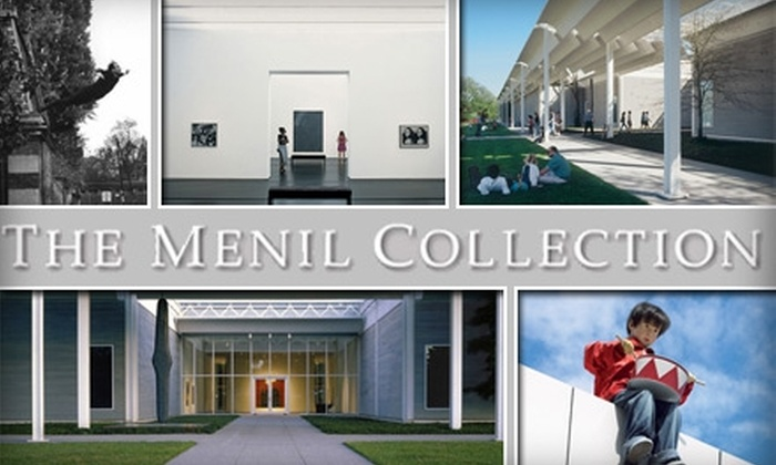 The Menil Collection - Neartown/ Montrose: $45 for a Yearlong Household Contributor Membership to the Menil Collection ($100 Value)