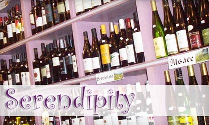 Serendipity Wines & Spirits - Upper East Side: Wine Packages and Tastings at Serendipity Wines & Spirits (Up to $164 Value). Choose from Three Options.