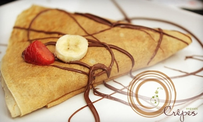 O'Crepes - DUMBO: $7 for $15 Worth of Crêpes, Coffee, and More at O'Crepes in Brooklyn