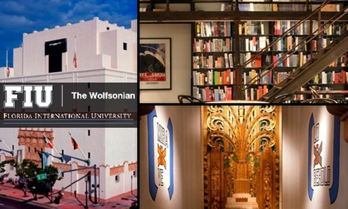 The Wolfsonian - Flamingo / Lummus: $37 for a One-Year Dual/Family Membership to The Wolfsonian in Miami Beach ($75 Value)