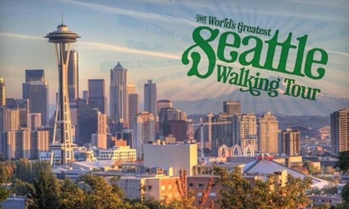 The World's Greatest Seattle Walking Tour - Seattle: $14 for Two Tickets from The World's Greatest Seattle Walking Tour