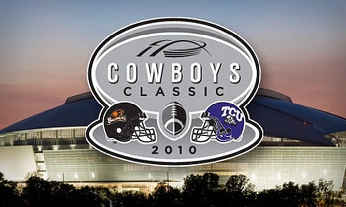Dallas Cowboys Stadium - Arlington: Up to 60% Off One Ticket to See the TCU Horned Frogs Vs. Oregon State Beavers at the Dallas Cowboys Stadium on September 4 at 6:45 p.m. Choose from Two Ticket Options.