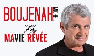 Théâtre de la Gaîté-Montparnasse: 2 places en catégorie 1 pour Michel Boujenah, du 5 décembre 2017 au 6 janvier 2018 à 40 € au Théâtre Gaîté-Montparnasse