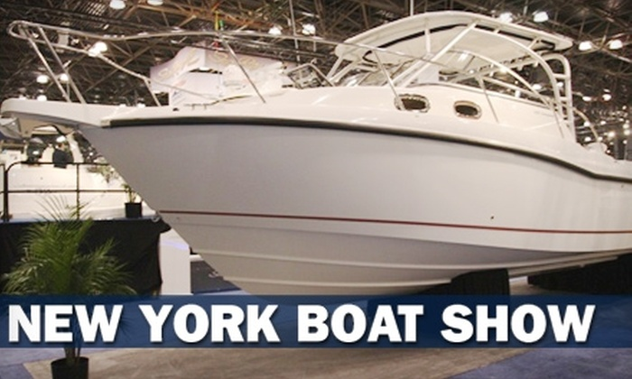 National Marine Manufacturers Association - Hell's Kitchen: $6 for One-Day Admission Pass to the 106th Annual New York Boat Show (Up to $12 Value)