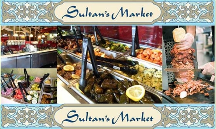 Sultan's Market - Lincoln Park: $5 For a $15 Groupon at Sultan's Market