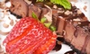 Louise's Kitchen Table: 6- or 10-Inch New York–Style or Chocolate Cheesecake from Louise's Kitchen Table (Up to 52% Off)
