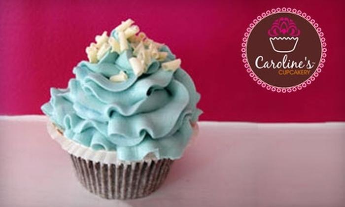 Caroline's Cupcakery - Locust Point: $15 for One Dozen Cupcakes at Caroline's Cupcakery