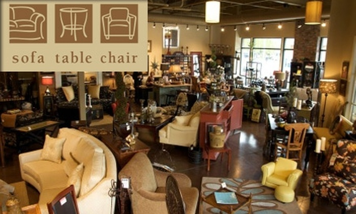 Sofa Table Chair - Sullivan's Gulch: $25 for $50 Worth of Custom Furniture and Interior Ornamentations at Sofa Table Chair