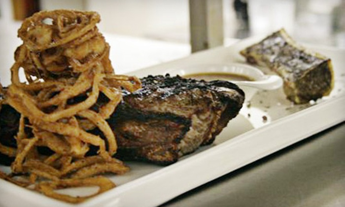 CY Steak - CY Steak: $75 for a Five-Course Steak-House Dinner for Two at CY Steak ($150 Value)