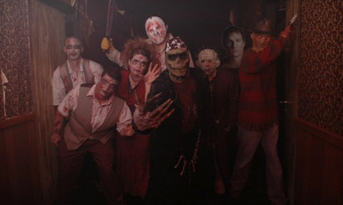 Boneyard Haunted House - Arlington: Haunted-House Outing for Two or Four to Boneyard Haunted House in Arlington. Three Options Available.