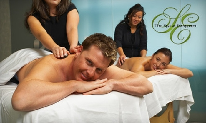 The Spa at Evergreen - Stone Mountain: $99 for an Aromatherapy Couples' Massage at The Spa at Evergreen in Stone Mountain ($200 Value)