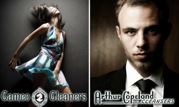 Cameo Cleaners - Multiple Locations: $15 for $30 Worth of CO2 Dry Cleaning from Cameo Cleaners or Arthur Copeland Cleansers