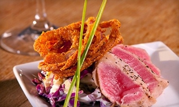 elle wine bistro - Hedrick Acres: Dinner for Two or Seasonal Fare at elle wine bistro (Up to 53% Off)