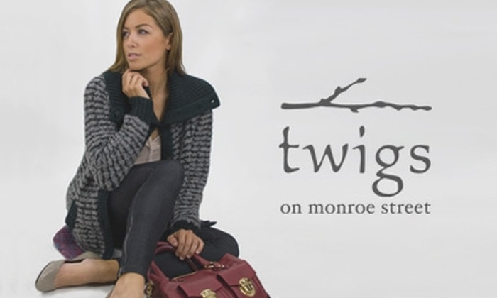 Twigs - Vilas: $50 for $100 Worth of Apparel, Accessories, and More at Twigs
