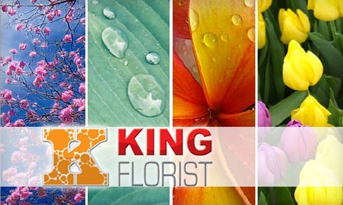 King Florist - Brentwood: $37 for $75 Worth of Fresh Flowers From King Florist