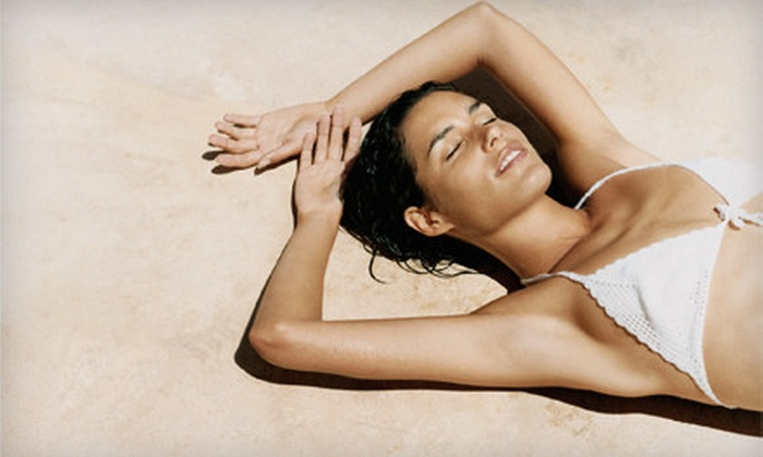 Baja Sun - Fort Worth: Two, Four, or Six Mystic Tan Airbrush Tans at Baja Sun (Up to 67% Off)