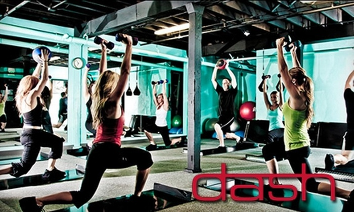Dash Fitness Studios - Sugar House: $20 for Six Classes at Dash Fitness Studios (Up to $80 Value)