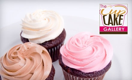 The Cupcake Gallery: a Dozen Delivered Gourmet Cupcakes - The Cupcake Gallery in