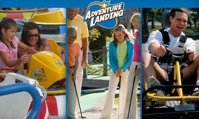 Adventure Landing - Far North Dallas: $14 for Five-Attraction Pass at Adventure Landing