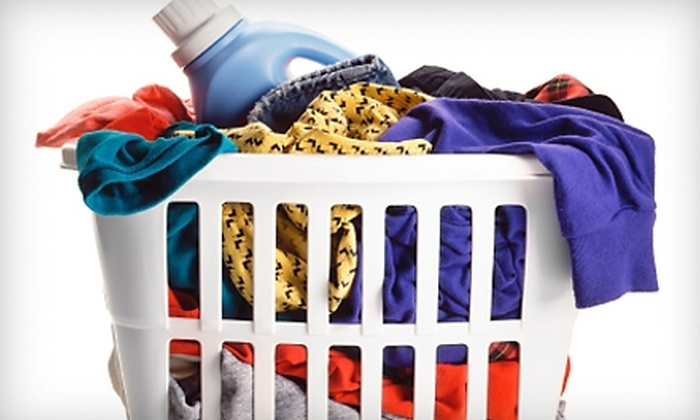 Laundry Moms - Syracuse: $29 for Two Weeks of Pickup and Delivery Service for Up to 40 Total lbs. of Laundry from Laundry Moms (Up to $64 Value)