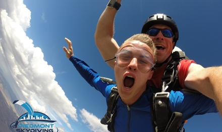 Up to 27% Off Tandem Skydiving at Piedmont Skydiving