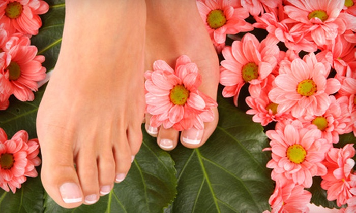 Pink Lime Salon & Spa - Downtown Vancouver: $27 for a Pedicure at Pink Lime Salon & Spa ($55 Value)