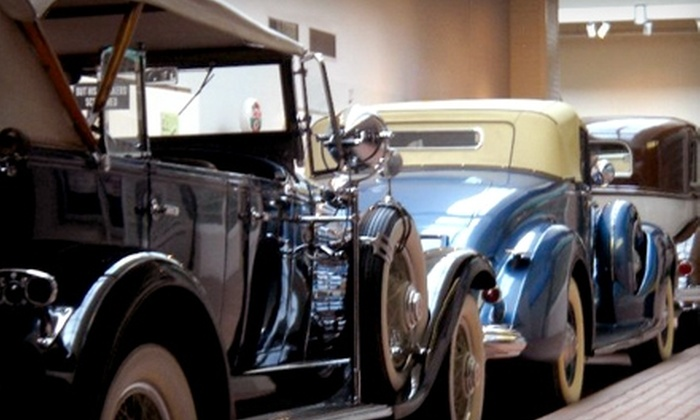 National Automobile Museum - Downtown Reno: One-Year Membership for Two or One-Year Family Membership at the National Automobile Museum.