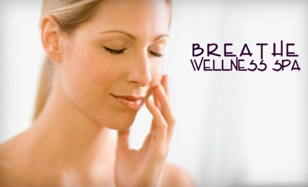 $60 Groupon to Breathe Wellness Spa - Breathe Wellness Spa in Boise