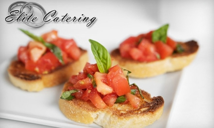 Elite Catering - Central London: $40 for $100 Worth of Catering Services from Elite Catering