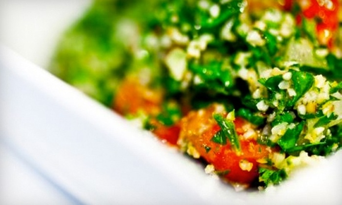 Meze Grill - Clinton: $5 for $10 Worth of Eastern Mediterranean Fare at Meze Grill