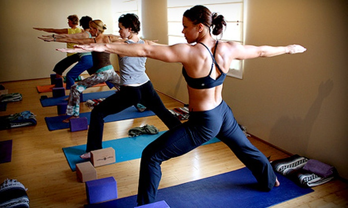 The Space Above - Norfolk: One Month of Unlimited Yoga Classes or a 20-Class Pass at The Space Above in Norfolk (Up to 73% Off)