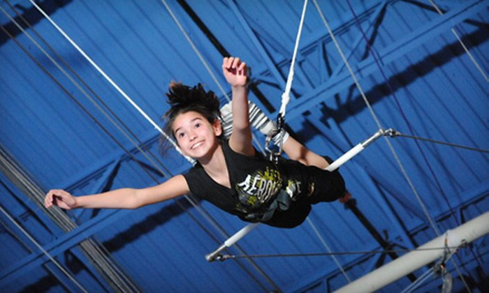 Trapeze School New York Beantown - Reading: One or Three Trapeze Classes at Trapeze School New York Beantown in Reading (Up to $75 Value)