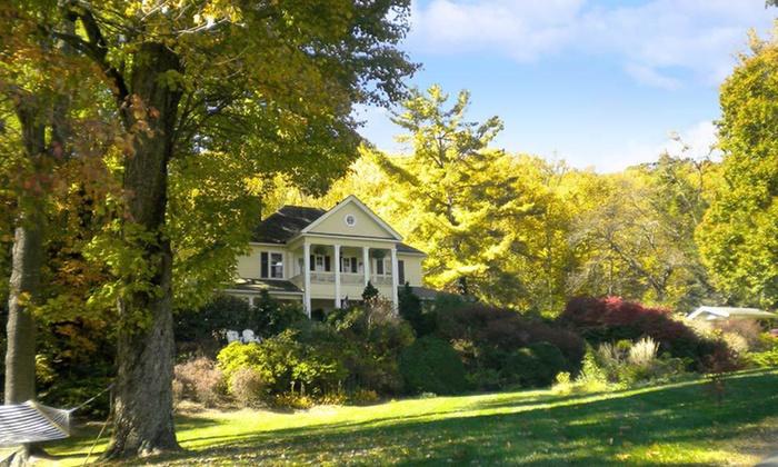 The Yellow House Bed & Breakfast - Waynesville, NC: Two-Night Stay for Two at The Yellow House Bed & Breakfast in Waynesville, NC