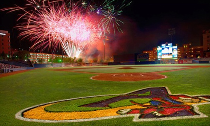 Akron Aeros - Downtown: Outing for Two or Four to an Akron Aeros Game