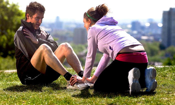 For U Fitness - Multiple Locations: Three Outdoor Personal-Training Sessions for One or Two at For U Fitness (Up to 73% Off)