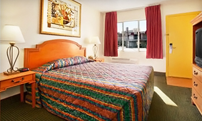 Travelodge Las Vegas - Las Vegas: One- or Two-Night Stay in a Standard Room at Travelodge Las Vegas (Up to 43% Off). Three Options Available.