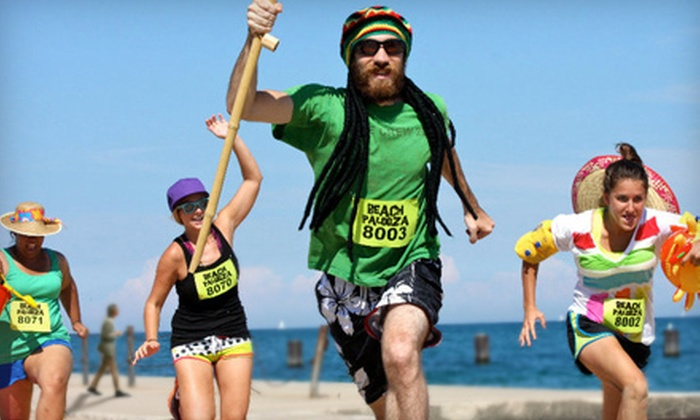 Red Frog Events Presents Beach Palooza - Rockaway Beach: $25 for One Entry to the Beach Palooza Obstacle Race at Rockaway Beach on Saturday, August 27 (Up to $65 Value)