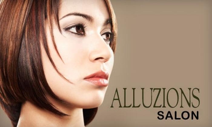 Alluzions Hair Salon - Jacksonville Beach: $25 for $50 Worth of Hair Services at Alluzions Hair Salon