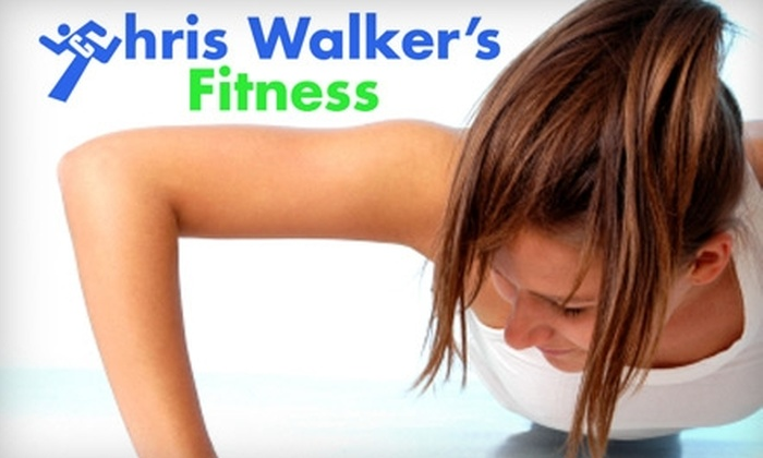 Chris Walker's Fitness - City Commercial Core: $55 for a One-Month Membership to Boot Camp at Chris Walker's Fitness