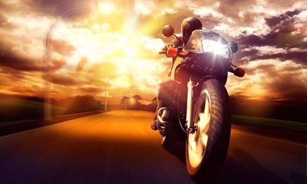 Wertgutschein anrechenbar auf eine Motorrad-Führerschein-Ausbildung (Klasse A) in der Fahrschule am ADAC