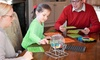 Deluxe Family Bingo Game: Deluxe Family Bingo with 4 Slide Bingo Cards and 2 Bonus Cards